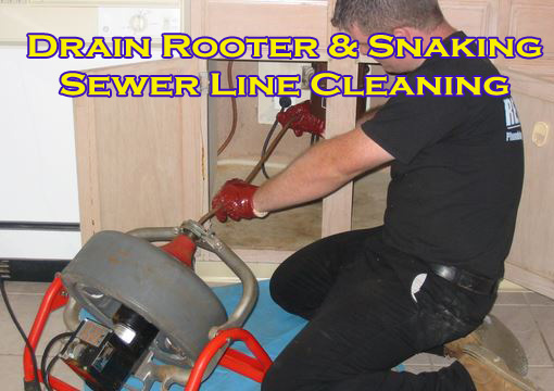 drain cleaning drain rooter services in Laurel, Maryland